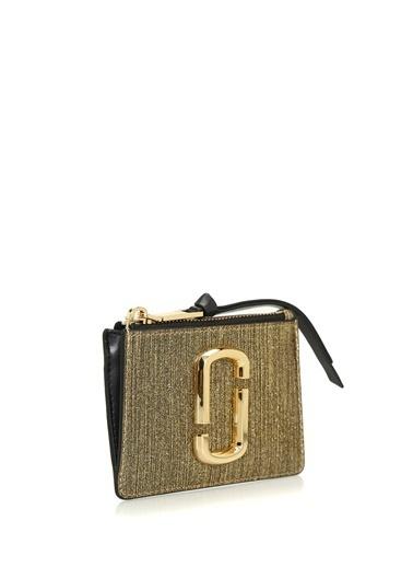 Marc Jacobs Marc Jacobs  Logolu Kadın Deri Cüzdan 101547772 Altın